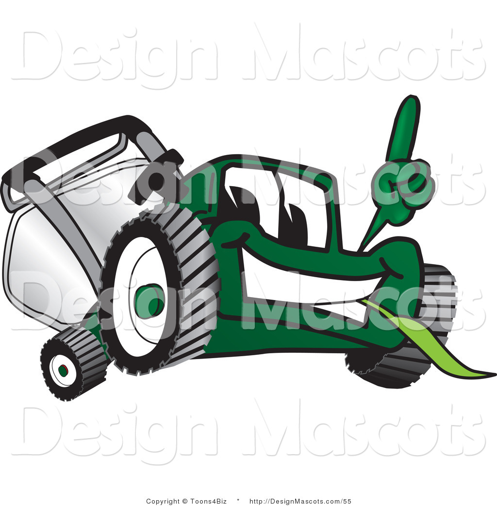 lawn mower clip art designs