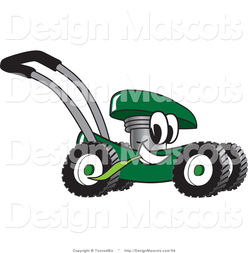 Pin Royalty Free Rf Lawn Mower Clipart Illustration By Toons4biz Stock ...