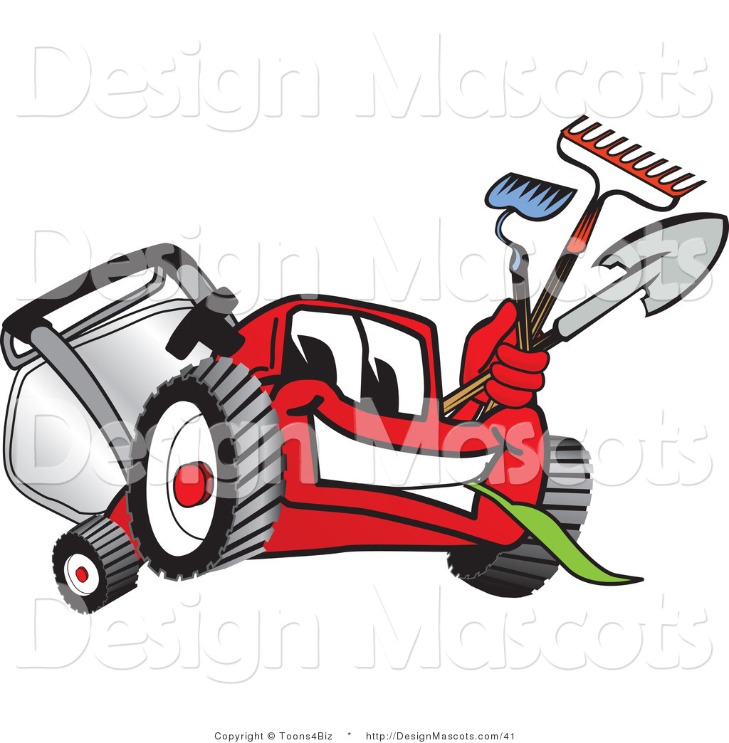 Lawn Mower Clip Art Pictures to pin on Pinterest