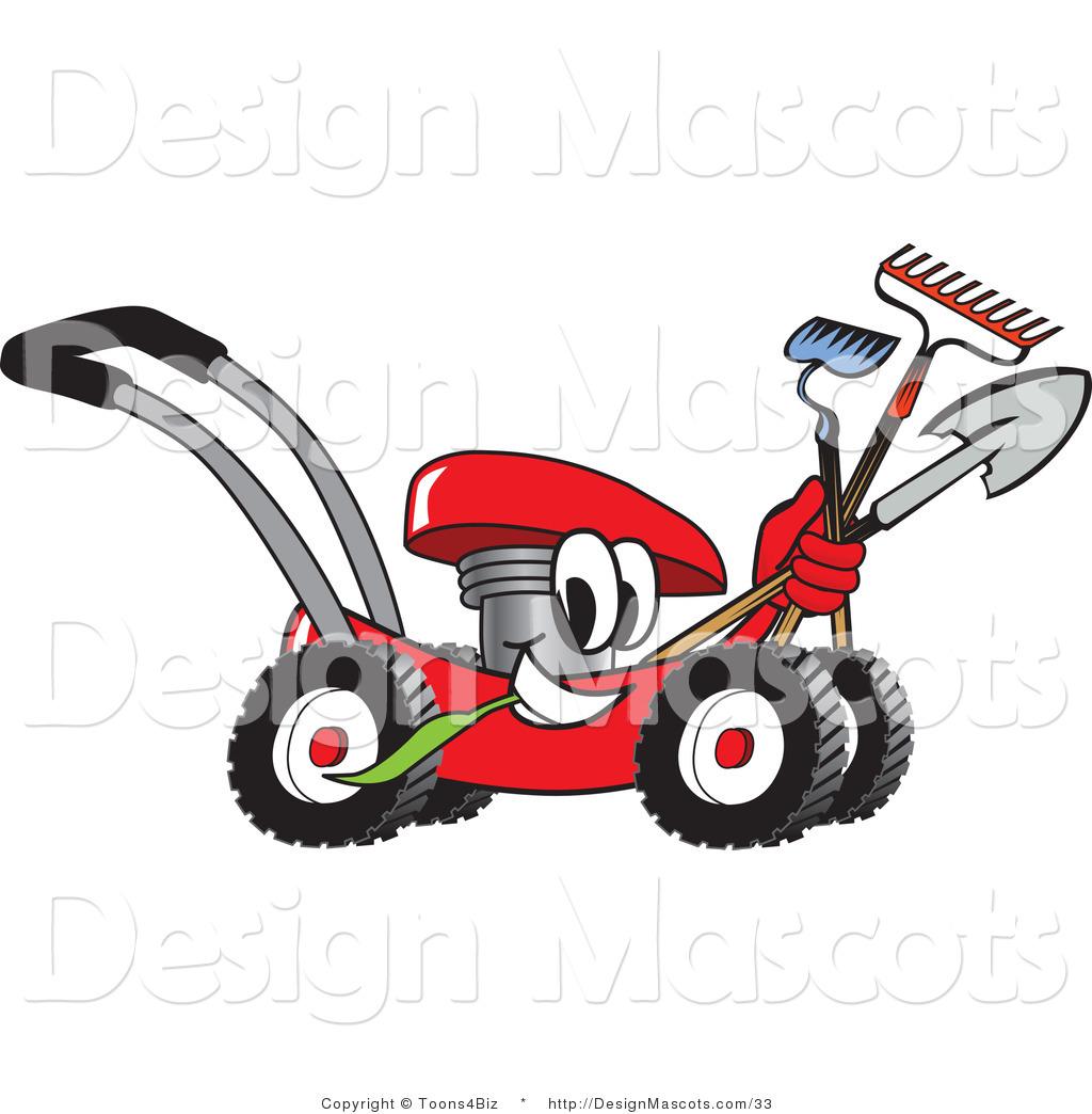 free cartoon lawn mower clipart - photo #5