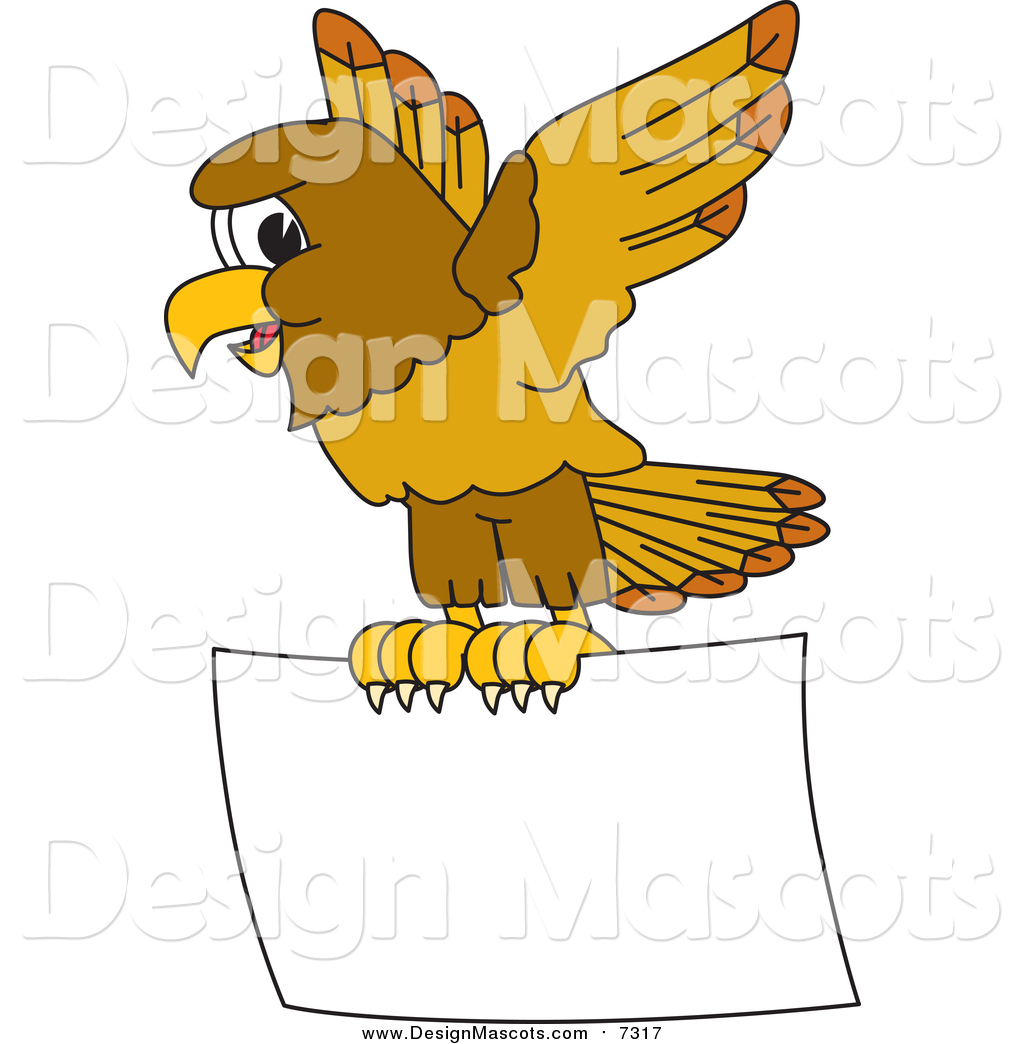 Hawks flying clipart