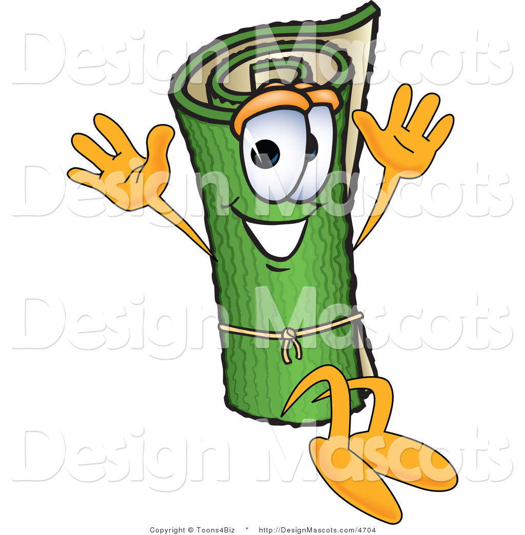 Cartoon Characters Green : Royalty free stock mascot designs of rugs