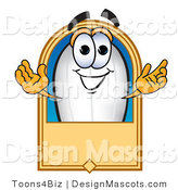Clipart of ABlimp Mascot Cartoon Character - Royalty Free by Toons4Biz