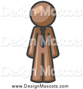 October 30th, 2014: Illustration of a Brown Business Man by Leo Blanchette