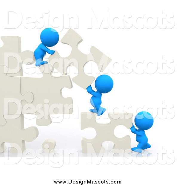 moving puzzle pieces