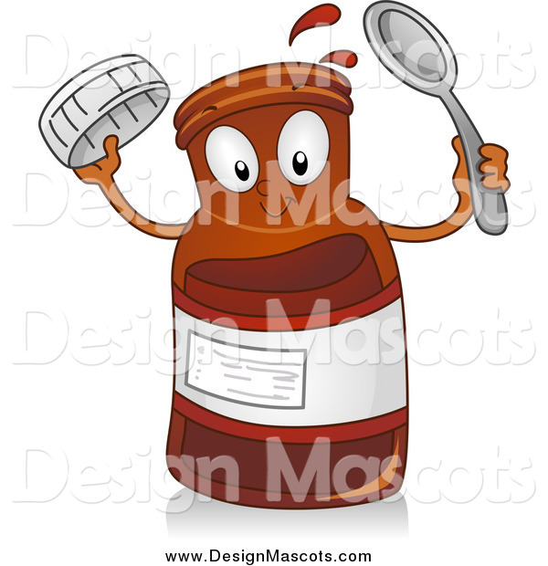 Illustration of a Cough Syrup Mascot