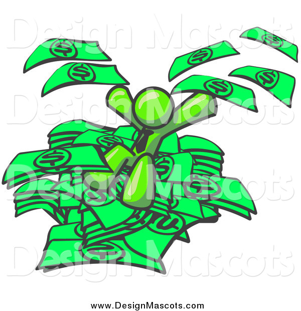 pile of money clipart - photo #19