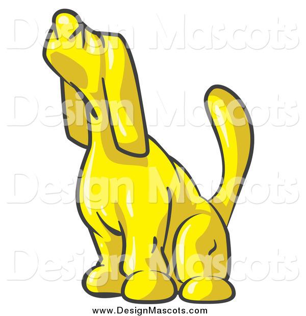 yellow dog clipart - photo #16