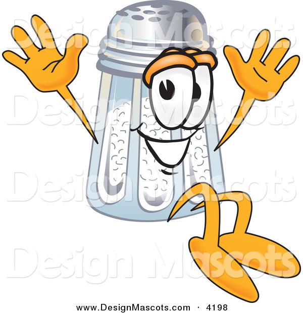 Cartoon Salt Shaker