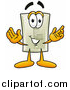 Illustration of a Light Switch Mascot Welcoming by Toons4Biz