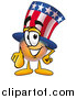 Illustration of an Uncle Sam Mascot Pointing at the Viewer by Toons4Biz