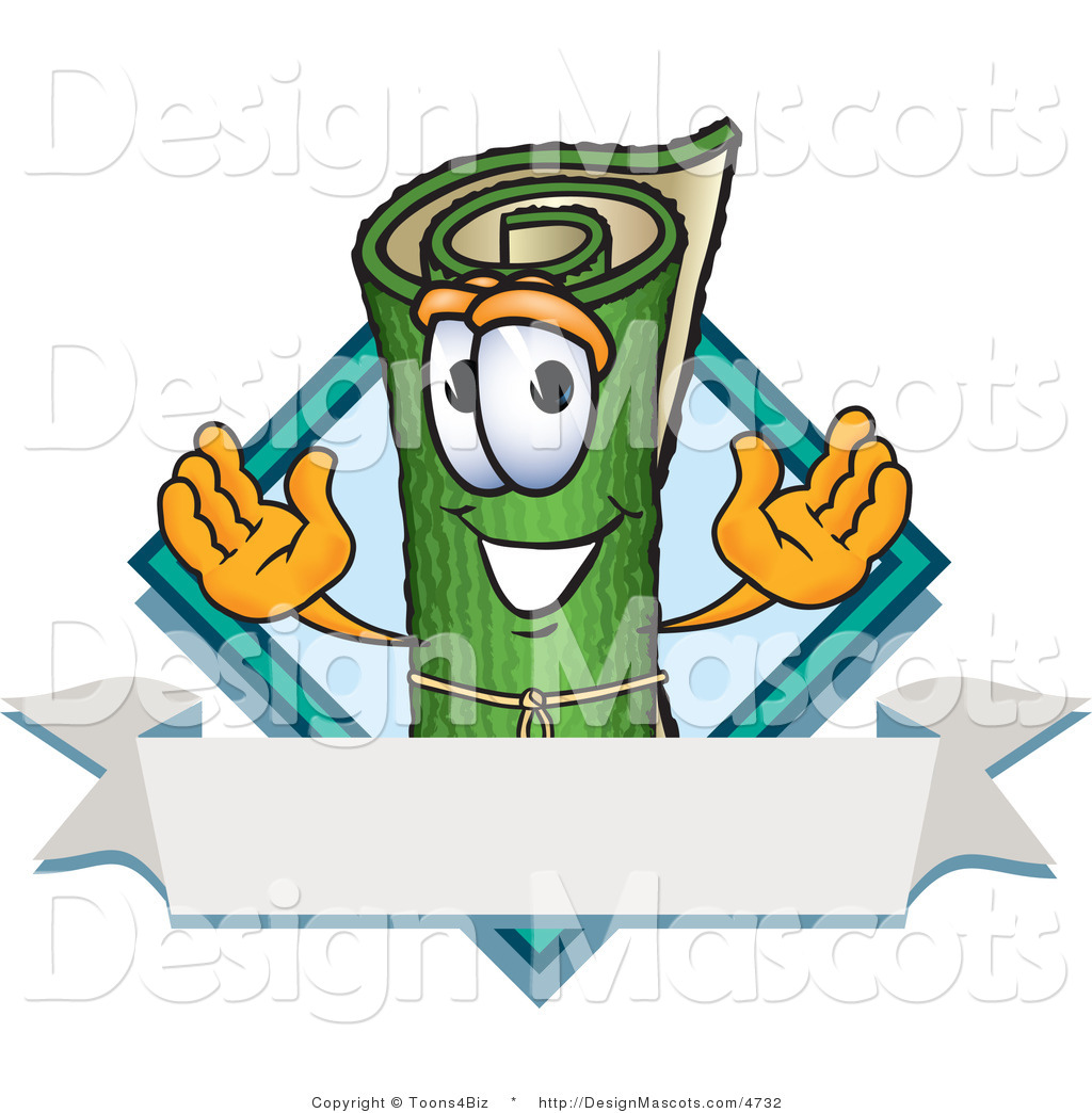 Royalty Free Rug Stock Mascot Designs